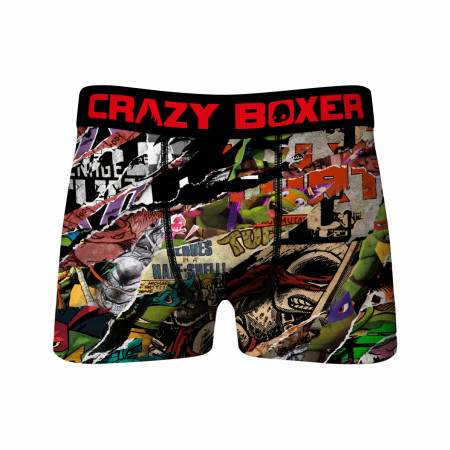 Crazy Boxers Teenage Mutant Ninja Turtles Comic Strips Boxer Briefs