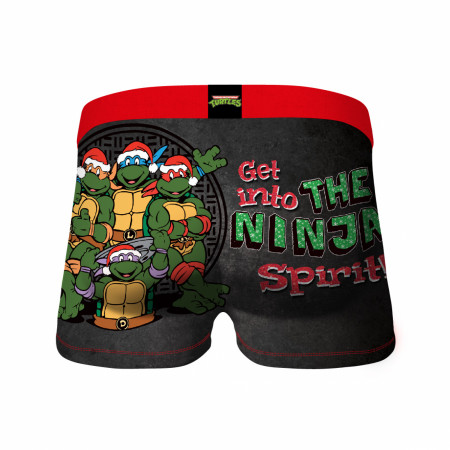 Teenage Mutant Ninja Turtles Holiday Spirit Crazy Boxer Briefs