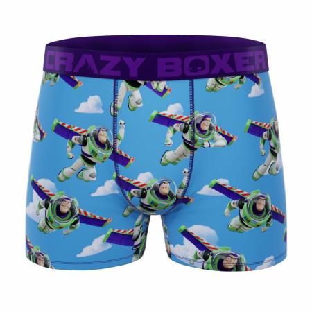 Crazy Boxers Disney Toy Story Buzz Lightyear Men's Boxer Briefs