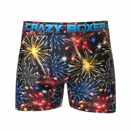 'Merica Fireworks Men's Boxer Briefs Shorts