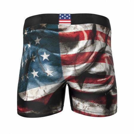 Dark American Flag Boxers