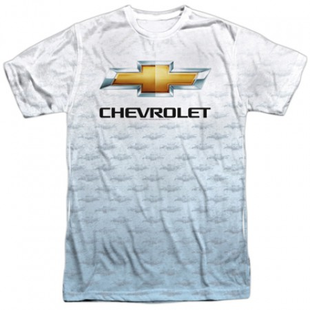 Chevrolet Chevy All Over Logos Tshirt