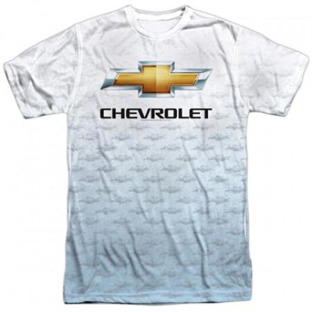 Chevrolet Chevy All Over Logos Tshirt