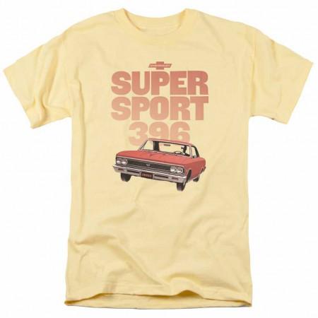 Chevy Super Sport 396 Yellow T-Shirt