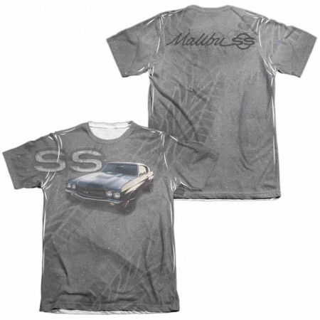 Chevy Muscle Chevelle White 2-Sided Sublimation T-Shirt
