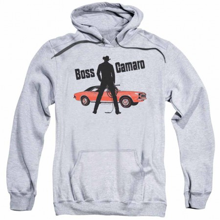 Chevy Boss Gray Pullover Hoodie