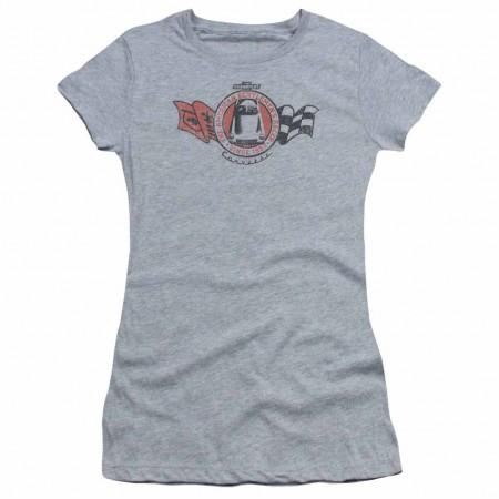 Chevy Gentlemen'S Racer Gray Juniors T-Shirt