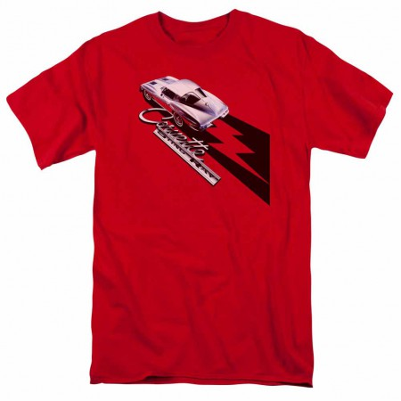 Chevy Split Window Sting Ray Red T-Shirt