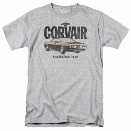 Chevy Retro Corvair Gray T-Shirt