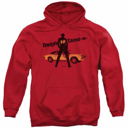 Chevy Tough To Tame Red Pullover Hoodie