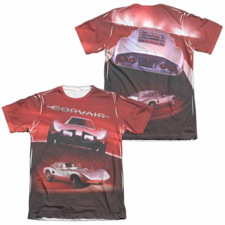 Chevy Silver Bullet White 2-Sided Sublimation T-Shirt