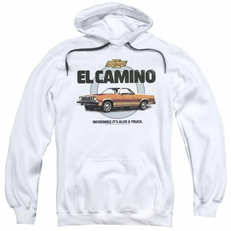 Chevy Also A Truck White Pullover Hoodie