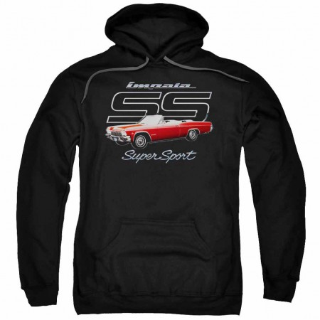 Chevy Impala Ss Black Pullover Hoodie