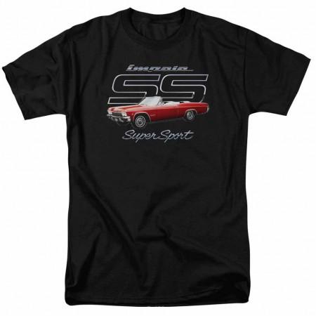 Chevy Impala Ss Black T-Shirt