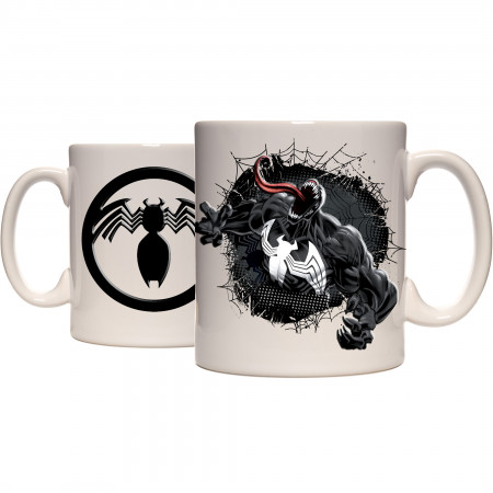 Venom Breakthrough Embossed Ceramic Mug