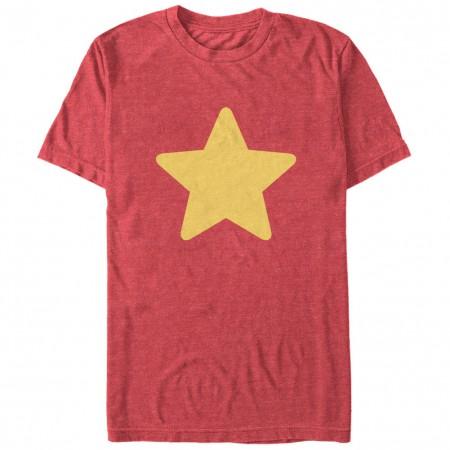 Cartoon Network Steven Universe Star Red T-Shirt