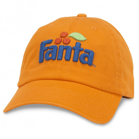 Fanta Adjustable Orange Strapback Hat