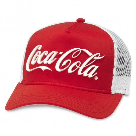 Coca-Cola Red And White Trucker Hat