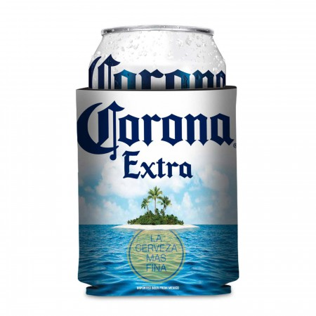 Corona Extra Foam Island Design Can Cooler