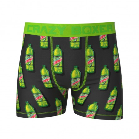 Mountain Dew Soda Bottles Boxer Briefs