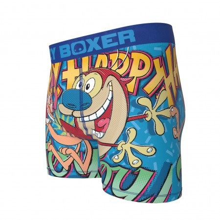 Ren and Stimpy Happy Happy Joy Joy Boxer Briefs