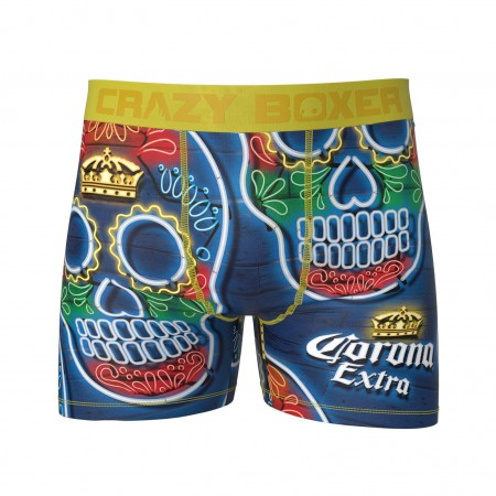 Corona Sugar Skull Men's Boxer Briefs