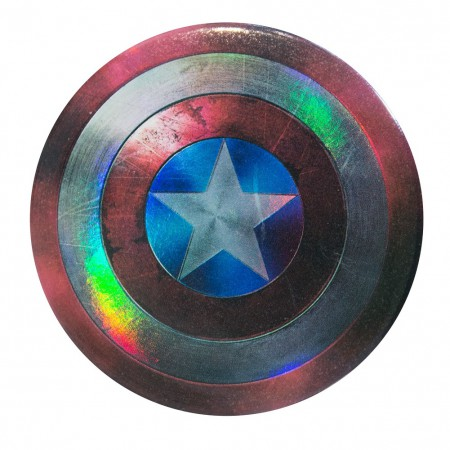 Captain America Shield Logo Magnet