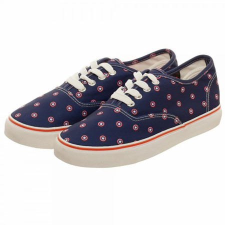 Marvel Captain America Navy Deck Shoes
