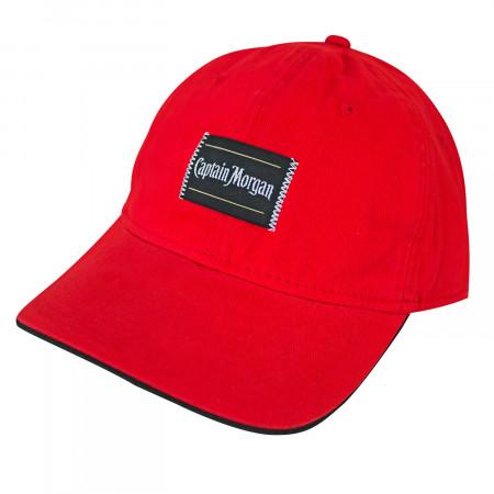Captain Morgan Patch Men's Red Hat
