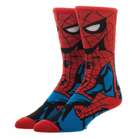 Spider-Man Classic 360 Character Crew Socks