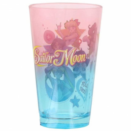 Sailor Moon Colored Pint Glass