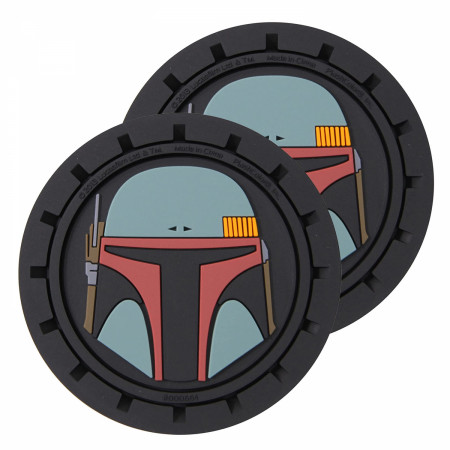 Star Wars Boba Fett Car Cup Holder Coaster 2-Pack