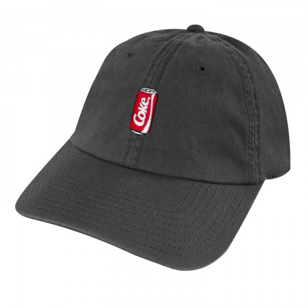 Coca-Cola Coke Can Dad Charcoal Hat