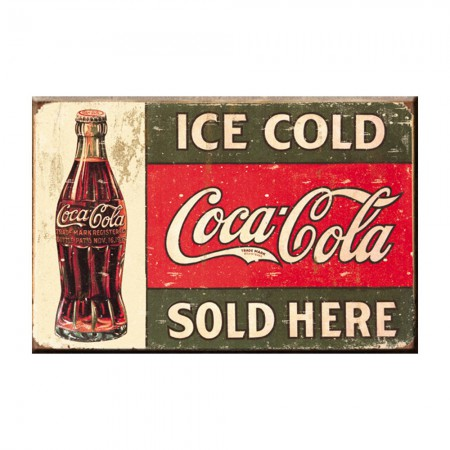 Coca-Cola Retro Ice Cold Magnet