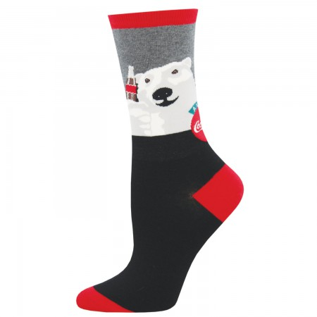 Coca Cola Polar Bear Logo Women's Socks
