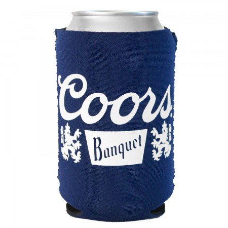 Coors Banquet Foam Can Cooler