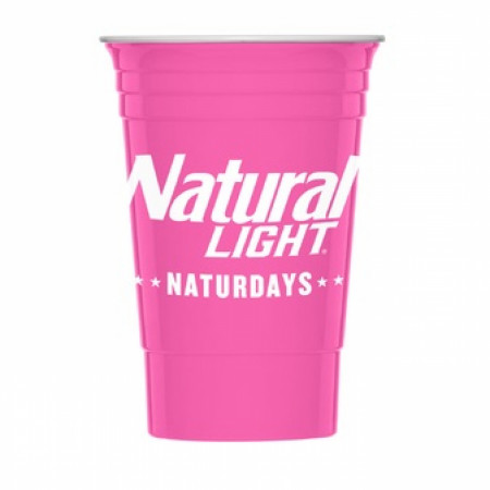 Natural Light Naturdays Reusable Plastic Cups 2-Pack