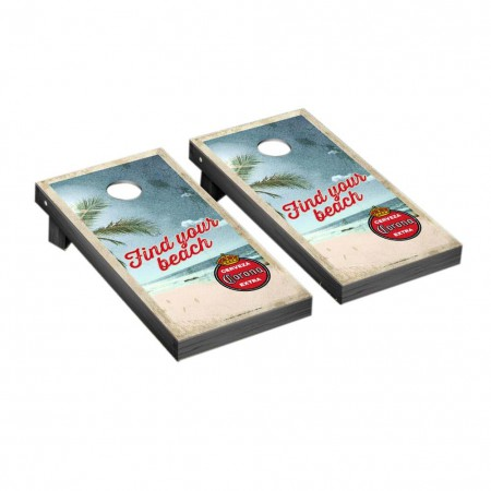 Corona Retro Logo Corn Hole Game