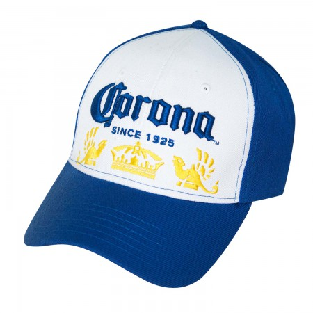 Corona Adjustable Blue & White Hat