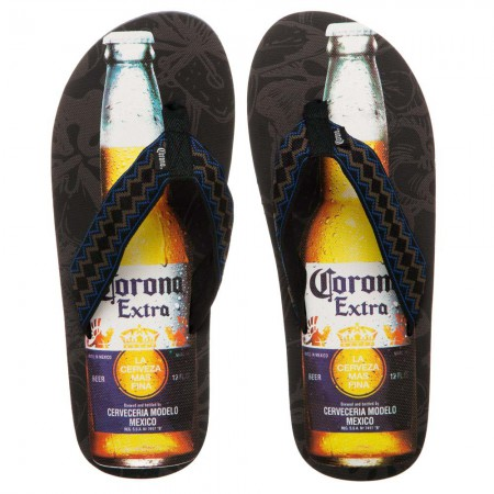 Corona Extra Beer Bottle Adult Sandals