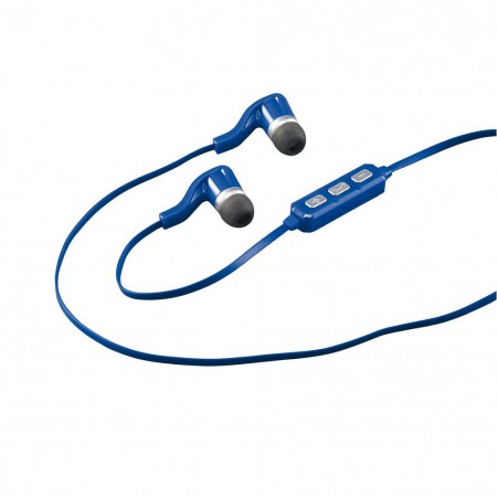 Corona Wireless Bluetooth Blue Earbud Headphones