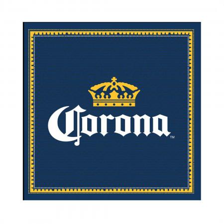 Corona Extra Navy Blue Large Bar Mat