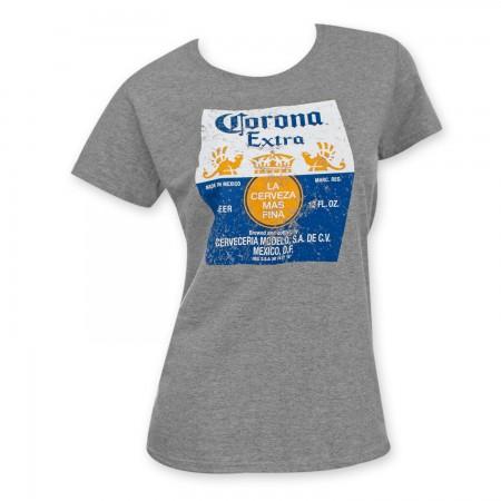Corona Extra Women's Grey T-Shirt