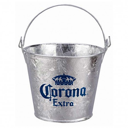Corona Extra Beer Bucket With Built In Bottle Opener