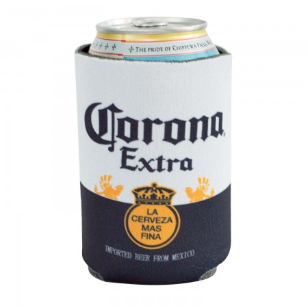 Corona Beer 12 OZ Label Can Cooler