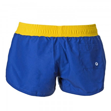 Corona Extra Label Design Women's Blue Board Shorts