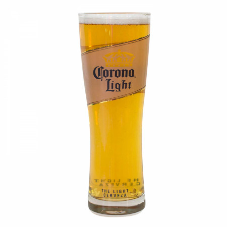 Corona Light Cerveza Oslo Pint Glass