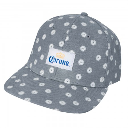 Corona Grey Mini Limes Strapback Hat