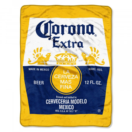 Corona Extra Super Plush Fleece Beach Blanket