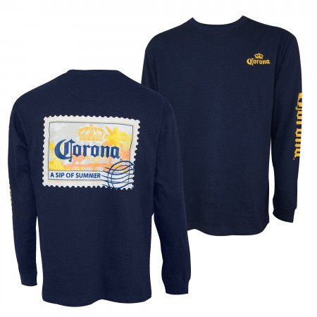 Corona Relax Responsibly Long Sleeve Shirt